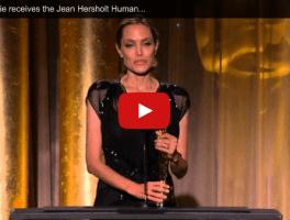 Angelina Jolie, Humanitarian Award and You