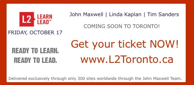 L2 Toronto Leadership Event