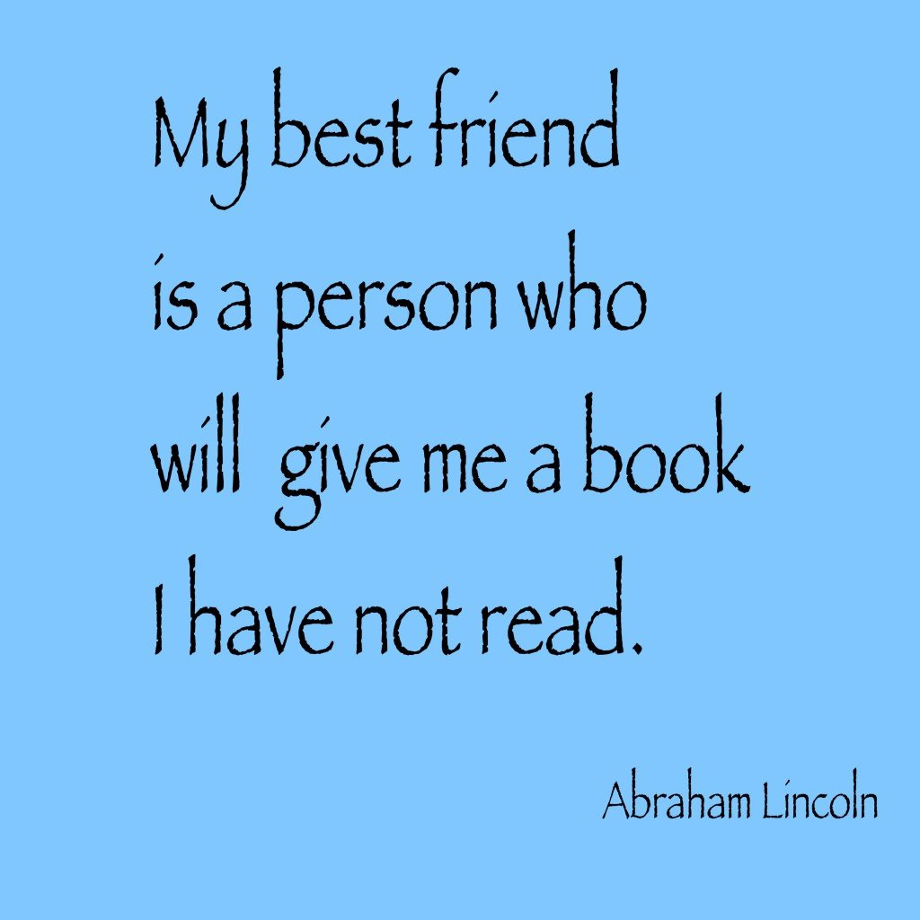 Abraham Lincoln quote about books