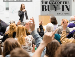 The Law of Buy-In: Your impact depends on YOU
