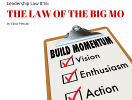 The Law of the Big MO: The DIFFERENCE maker