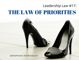 The Law of Priorities: The key to your best performance