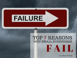 Top 7 Reasons Why Small Businesses Fail