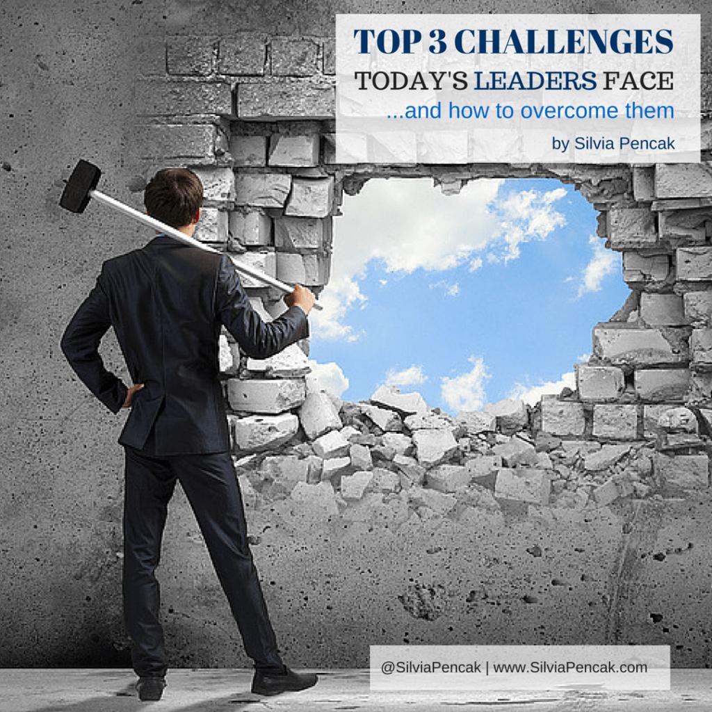 Top leadership challenges