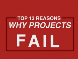 Top 13 Reasons Why Projects Fail